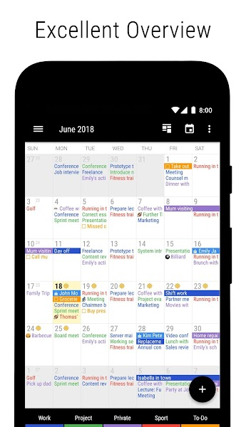 Download APK: Business Calendar 2・Agenda, Planner & Organizer v2.37.1 [Final] [Pro]