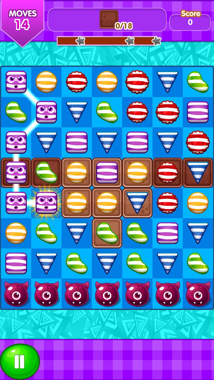 Скриншот Candy Blast Match 3 Game