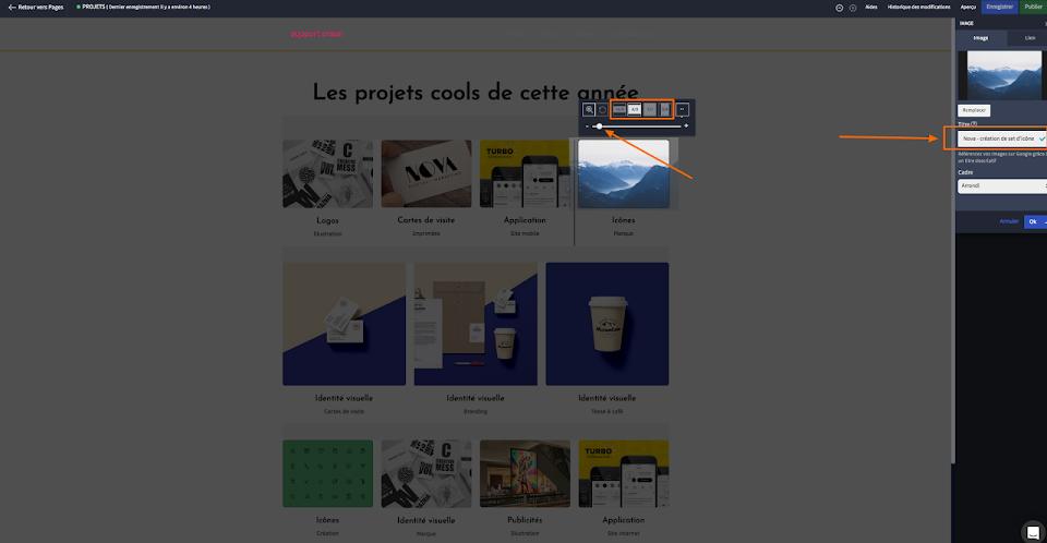 Création de site web responsive design