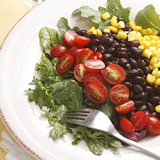 Southwestern Salad with Black Beans.