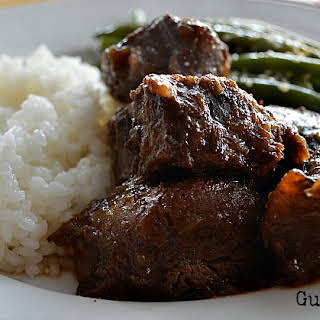 Beef Shanks with Vietnamese Spiced Glaze (Gluten Free, Soy Free).