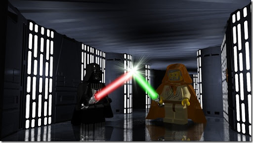 Lego - Duelo de viejos amigos