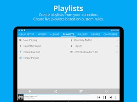 Screenshot of Music Player : Rocket Player