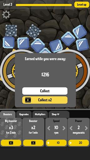 Grind my Gears - Idle Fun  captures d'écran 2
