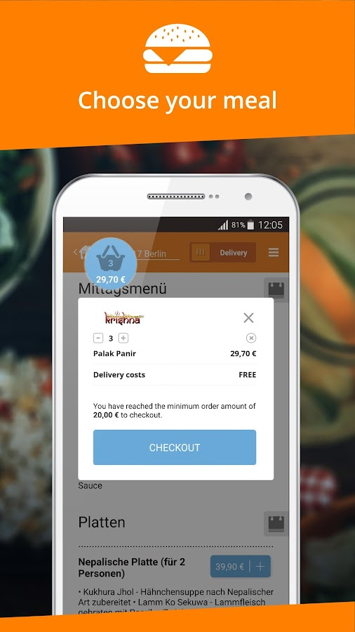 Order food android apps on google play - Application android cuisine ...