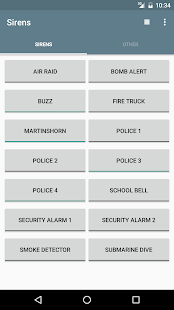 Siren, Alarm & Horn Sounds Screenshot