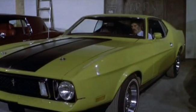 1973 mustang mach 1 eleanor