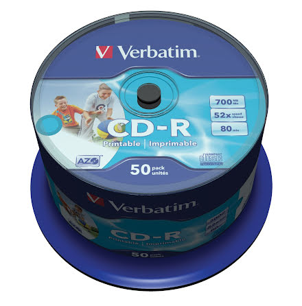 CD-R Verbatim Printable 50/fp