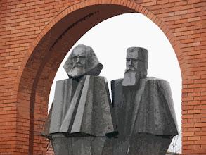 Photo: Budapeszt Memento Park - Marx i Engels (16 izohelia)