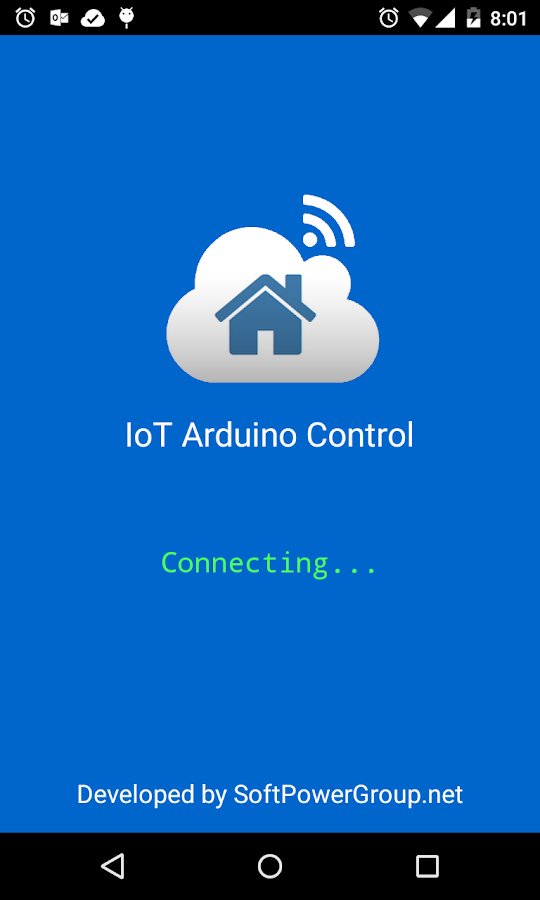 Arduino IoT Control Devices- screenshot