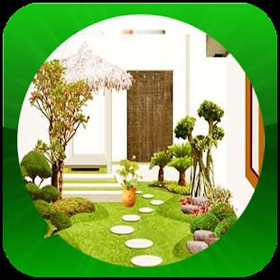 Minimalistická zahradní myšlen - náhled