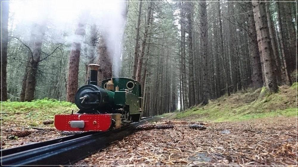 A maior ferrovia em miniatura do mundo