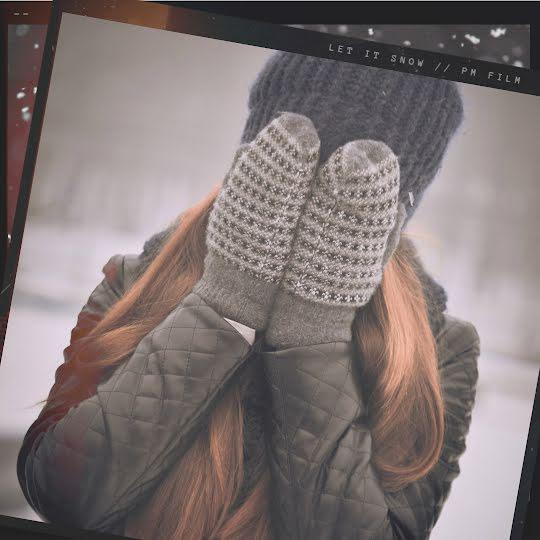 Winter Mittens - Instagram Post Template