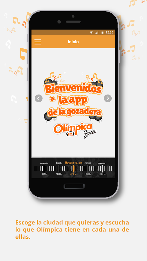 Olimpica Stereo- screenshot
