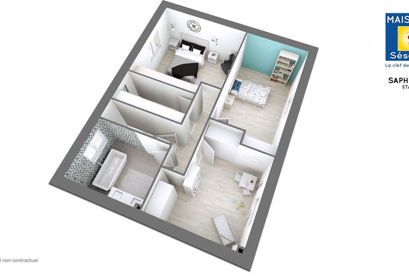 Vente Terrain + Maison - Terrain : 450m² - Maison : 120m² à Longperrier (77230)