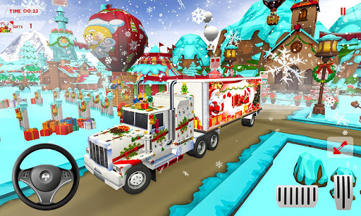 Foto do Christmas Gift Delivery:  Euro Truck Simulator 3D