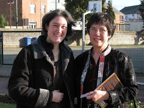 Photo: Yolaine Pourbaix de Brouwer, left, is the daughter of Anne's cousin, Paul Pourbaix.