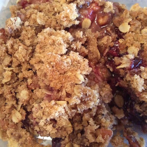 Elaine's Berry Crisp With Frozen Fruit Recipe