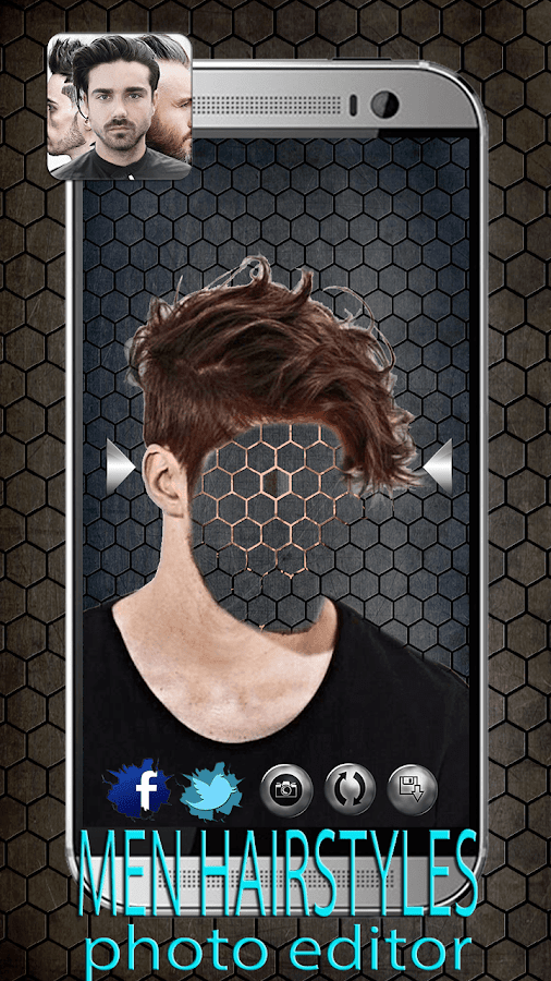 Wondrous Men Hairstyles Photo Editor Android Apps On Google Play Short Hairstyles Gunalazisus