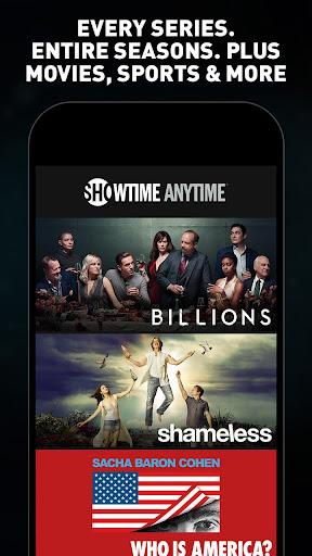 Showtime Anytime screenshot