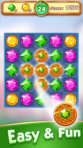 Jewel & Gem Blast - Match 3 Puzzle Game apktram screenshots 5