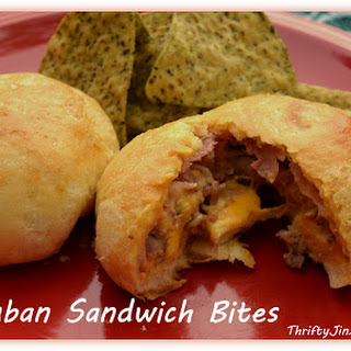 Cuban Sandwich Bites Recipe – Filled with Velveeta!