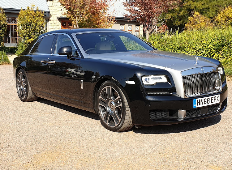 The Rolls-Royce Ghost ages gracefully in its twilight years