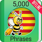 Learn Catalan - 5000 Phrases icon