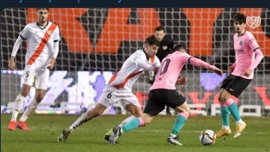 Hasil Copa del Rey - Gol dan Operan Cungkil Lionel Messi Loloskan Barcelona Susah Payah - Bolasport.com