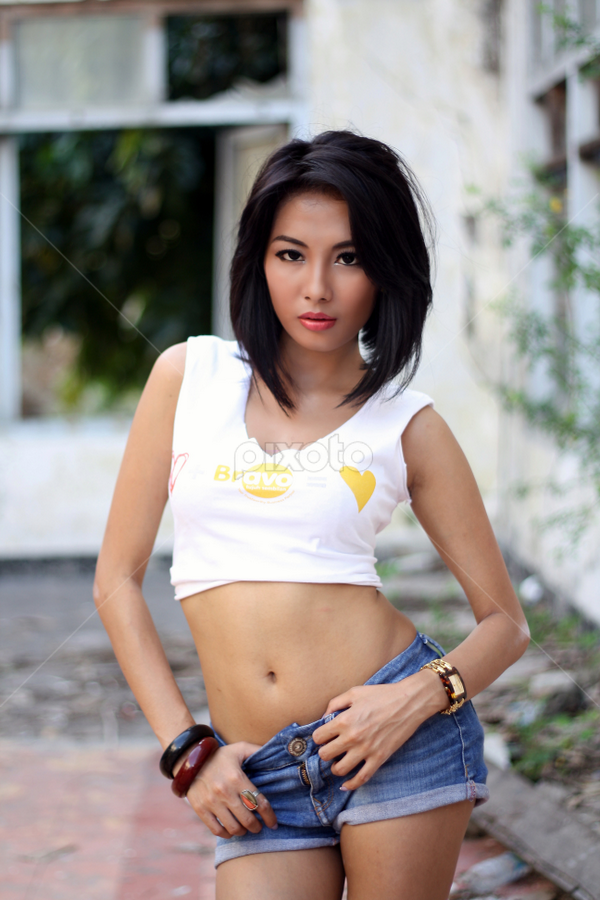 sexy girl by Didik Harianto - People Portraits of Women