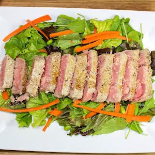 Sesame Ahi Tuna Salad