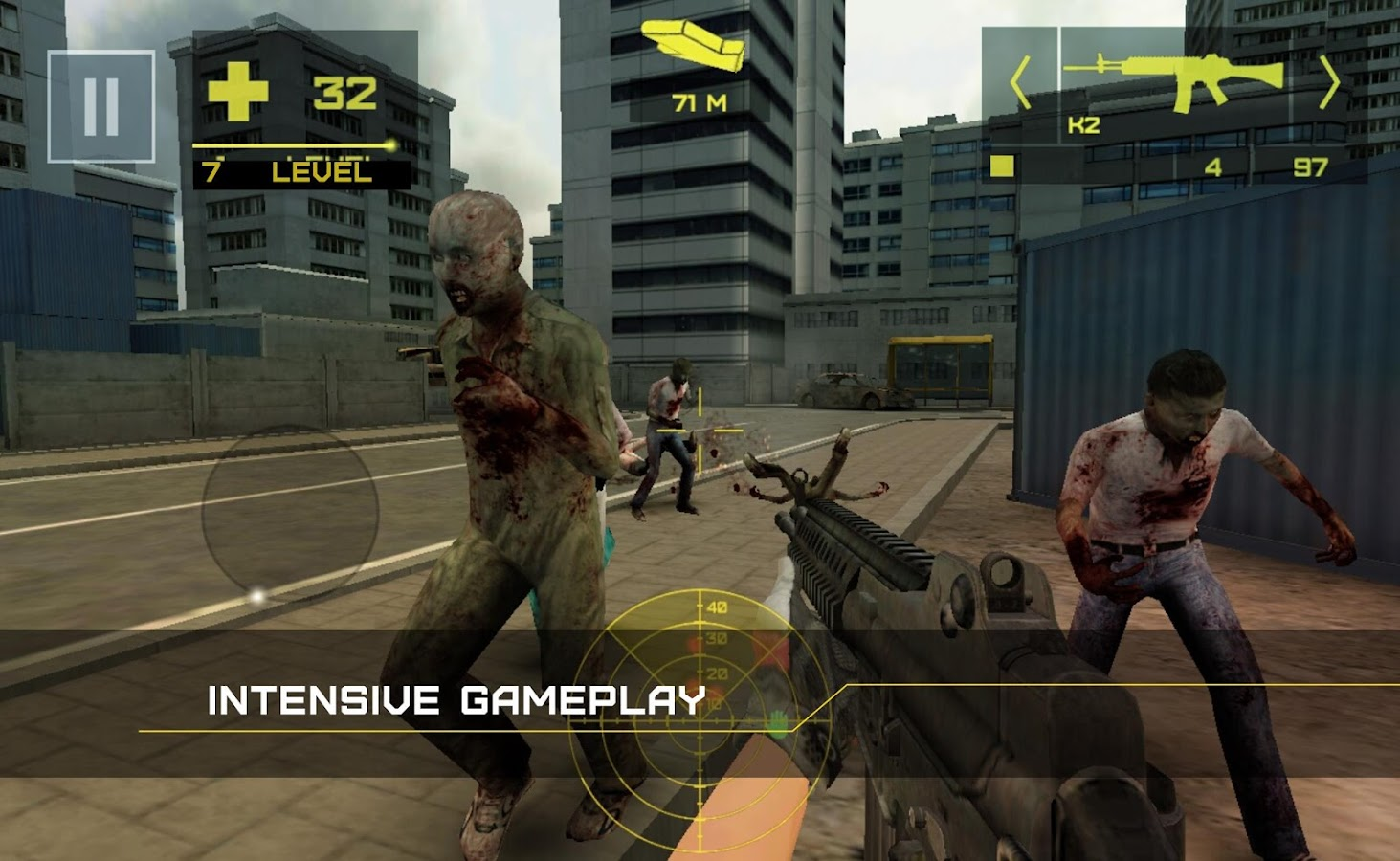 Zombie Defense: Adrenaline- screenshot