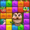 Fruit Funny Blocks: farm cubes day icon