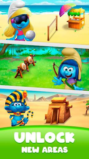 Smurfs Bubble Shooter Story screenshots 5