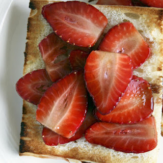 Strawberries on Toast