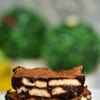 Chocolate Biscuits Slice