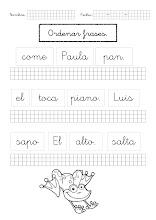 Photo: Ordenar frases-1a