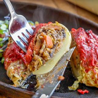 Vegan Cabbage Rolls.