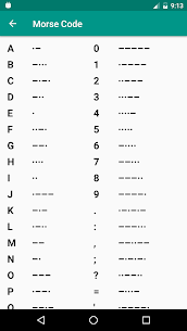 Morse Code 1.0.7 APK + MOD (Unlocked) 3