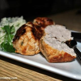 Turkey Meatballs with Dijon Sauce.