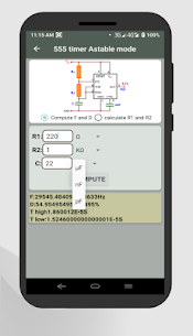 Electronics circuit calculator-Electronics toolkit App Download for Android 4