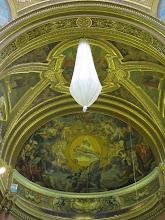 Photo: 401 Zejtun, église Ste Catherine d'Alexandrie, protection lustre
