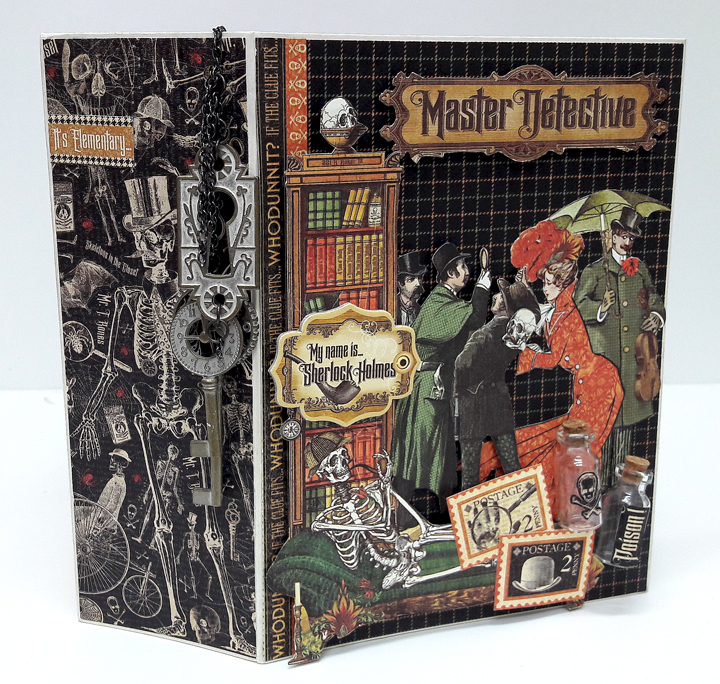 Master Detective Mini Album, by Einat Kessler, product by Graphic 45, photo4.jpg