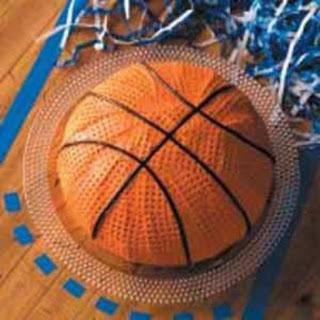 All Star Basketball Cake.