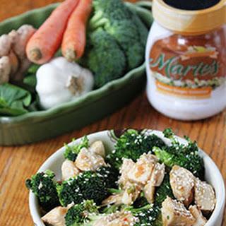 Sesame Chicken & Broccoli