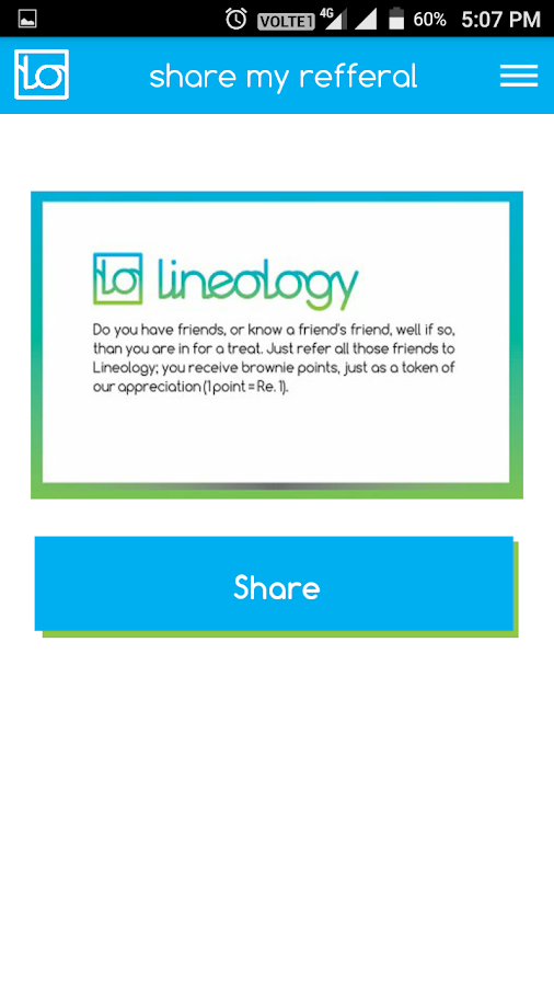 Lineology (beta version)- screenshot