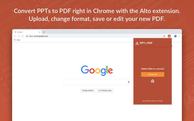 AltoConvertPPTtoPDF: Free PPT to PDF Tool