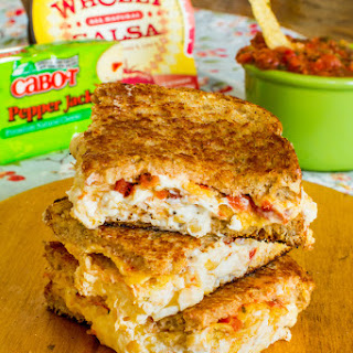 Chips & Salsa Grilled Cheese with Cabot Pepper Jack