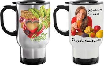 Photo: Travel Mugs(Sublimation type)