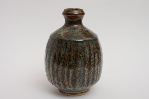 John Leach Fluted Bottle